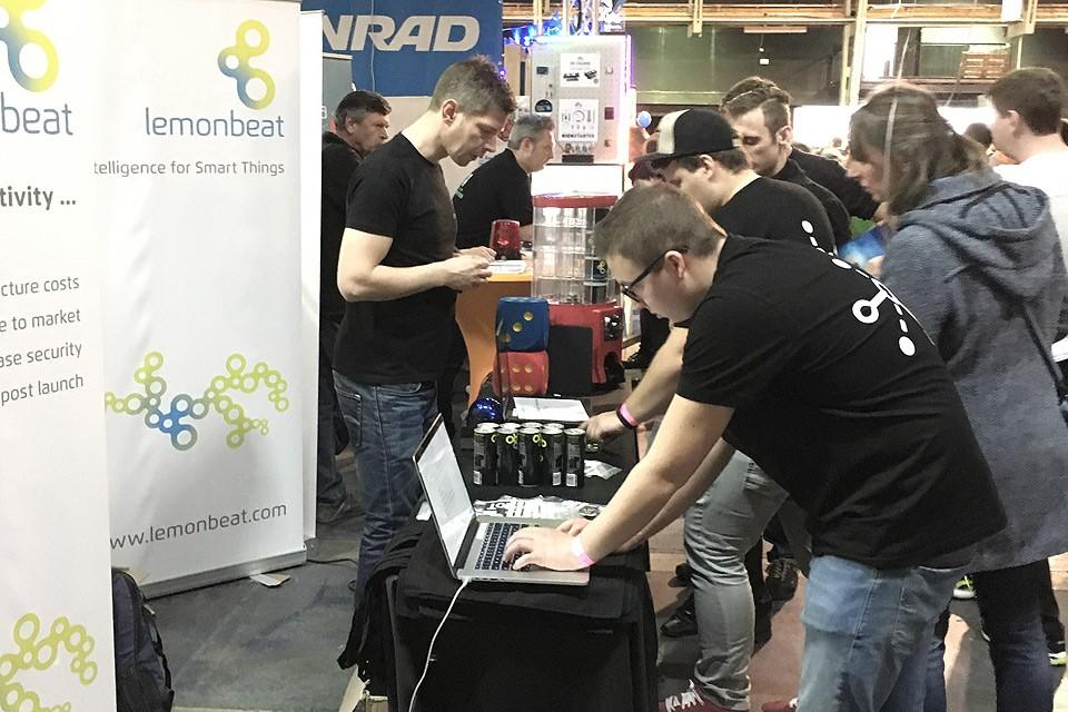 Lemonbeat Booth at Make Munich