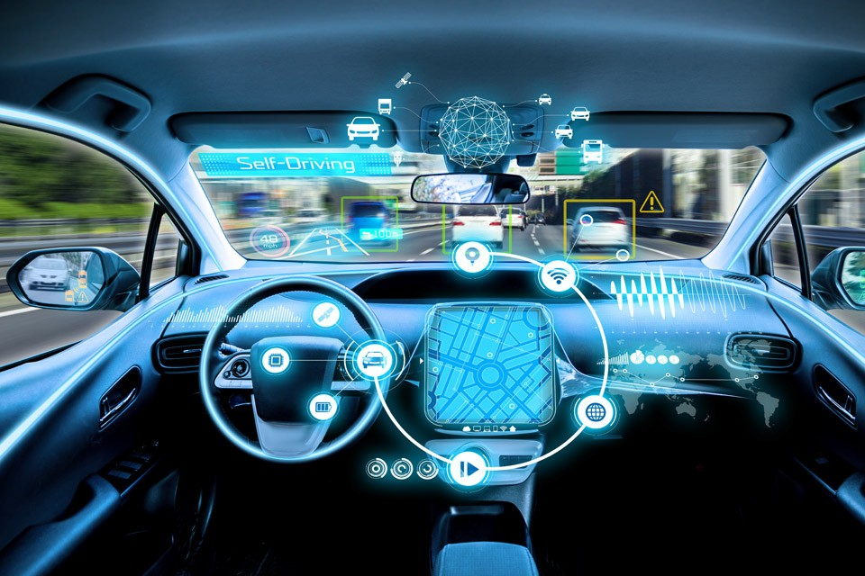 Edge computing in an autonomous car