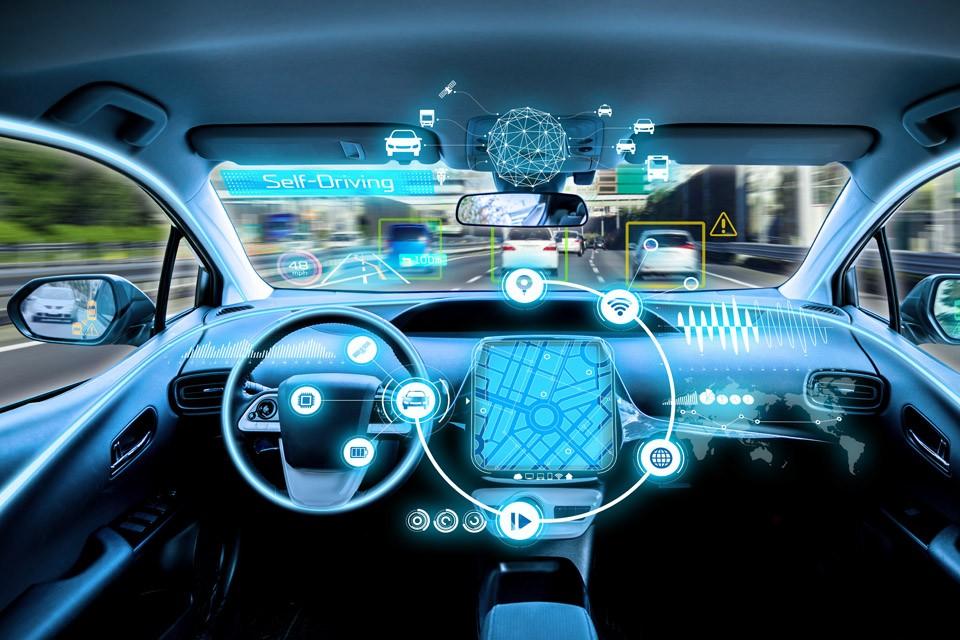 Edge computing in an autonomous car