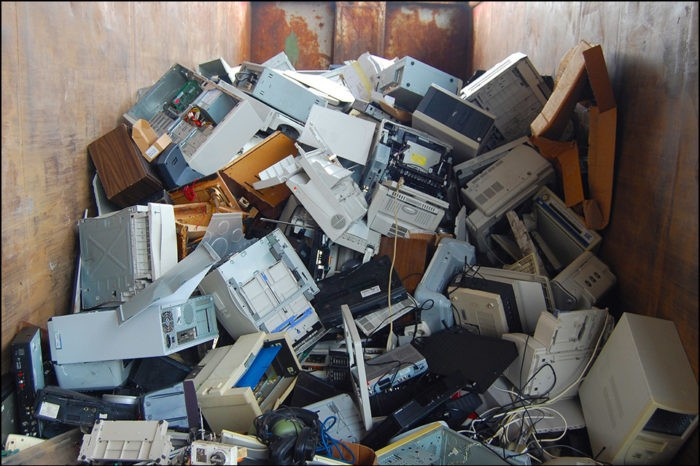 E-waste: raw material of the future