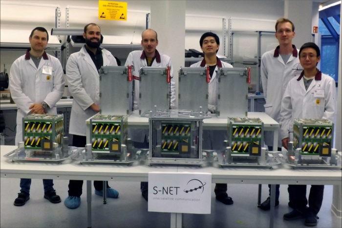 Nanosatellites for the Internet of Things
