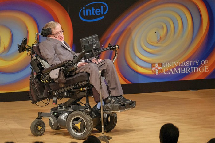 "Stephen Hawking: ""The Connected Wheelchair"""