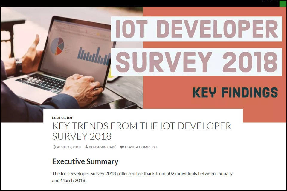 IoT Developer Survey 2018