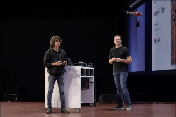 MS Intelligent Edge: IoT drones approaching