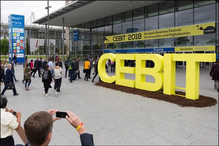 StartUps & Entrepreneurs of the CeBIT 2018