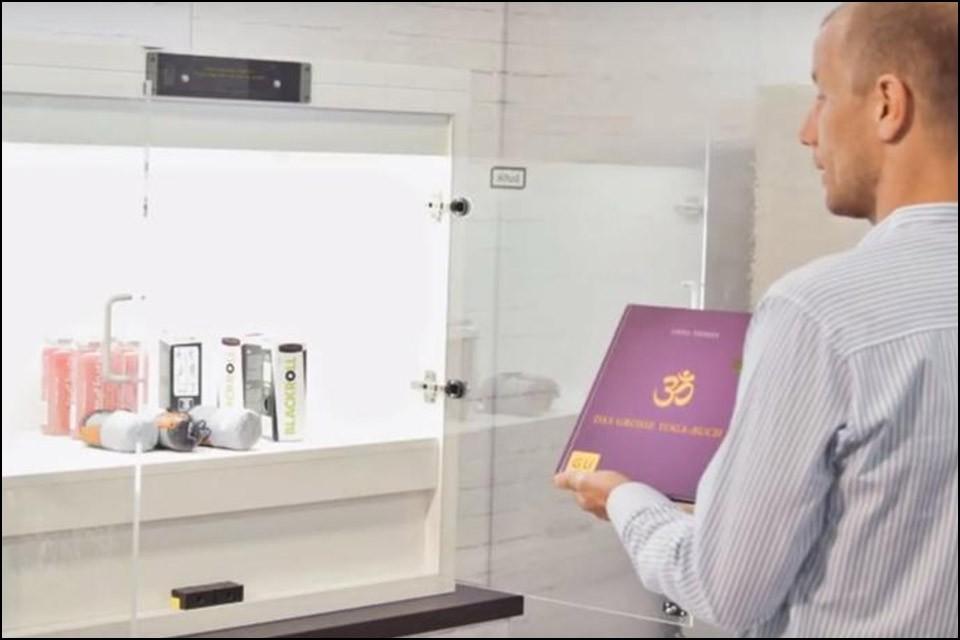 IoT shelf: Biometric shopping