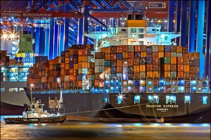 IoT container tracking in real time