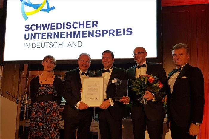 Entrepreneur Prize in Germany: Ericsson awarded