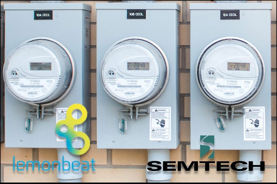 Semtech LoRa technology in Lemonbeats digital meters