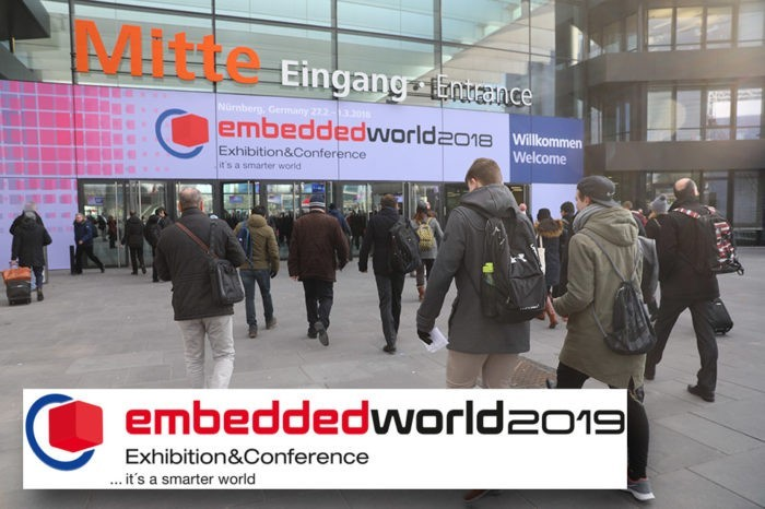 embedded world 2019 - The trade fair invites to the next session