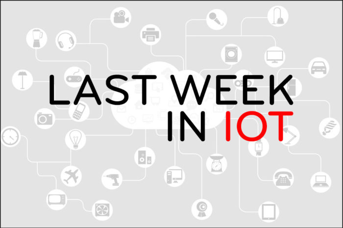 Last Week in IoT [VIII]
