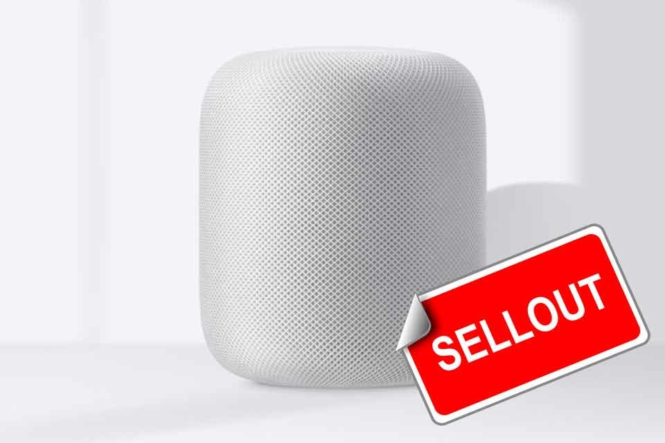 Apple HomePod Discontinued