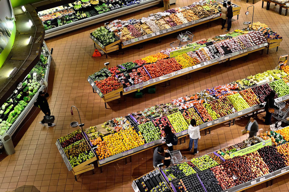Food Supply Chains account for high greenhouse gas emissions